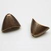 """Концевик """"Плоский конус"""" (цвет - античная медь) 20х14х11 мм, 2 штуки"""