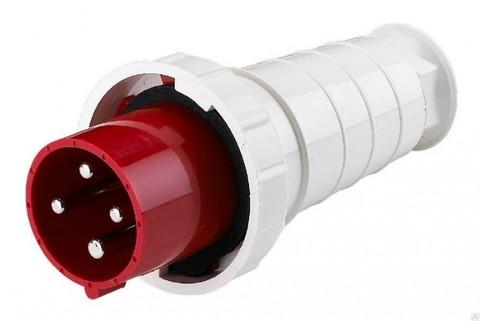Вилка кабельная IP67 16А 3Р+РЕ 380В TDM