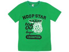 18059-7 футболка для мальчиков, зеленая