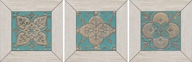 Вставка Меранти белый мозаичный 13х13