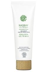 Нежное молочко-гель для бережного очищения комбинированной кожи, Naobay