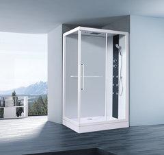 Душевая кабина Orans OLS-SR86159 R, 90х120см. профиль белый, стекло прозрачное, правая