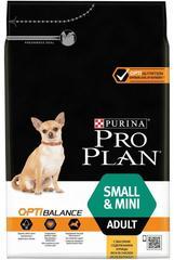 Purina Pro Plan SMALL&MINI ADULT для взрослых собак мелких и карликовых пород (курица и рис)