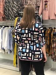 Туника Laura Canorra 2126 рубашка геометрия