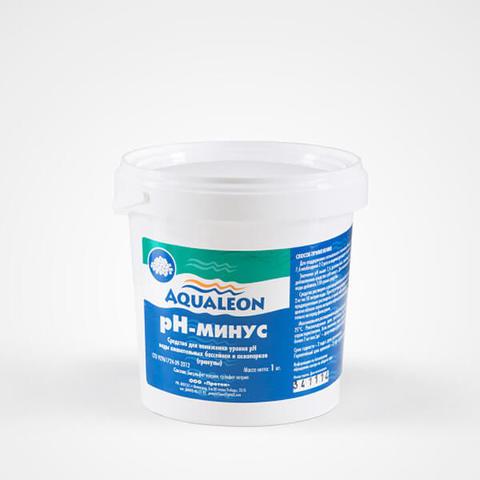 Aqualeon PH-минус гранулы // ведро 1кг