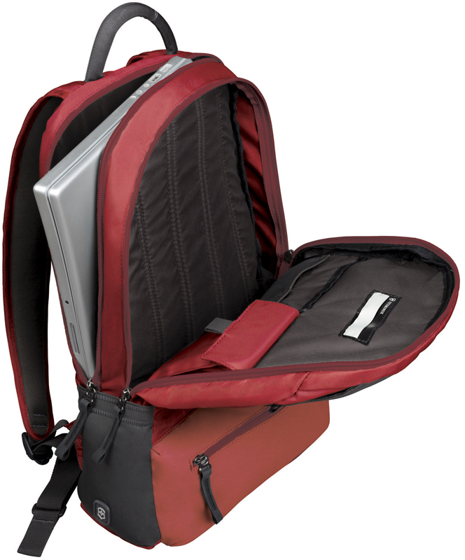Рюкзак Victorinox Altmont 3.0 Laptop Backpack 15,6'', красный, 32x17x46 , 25 л