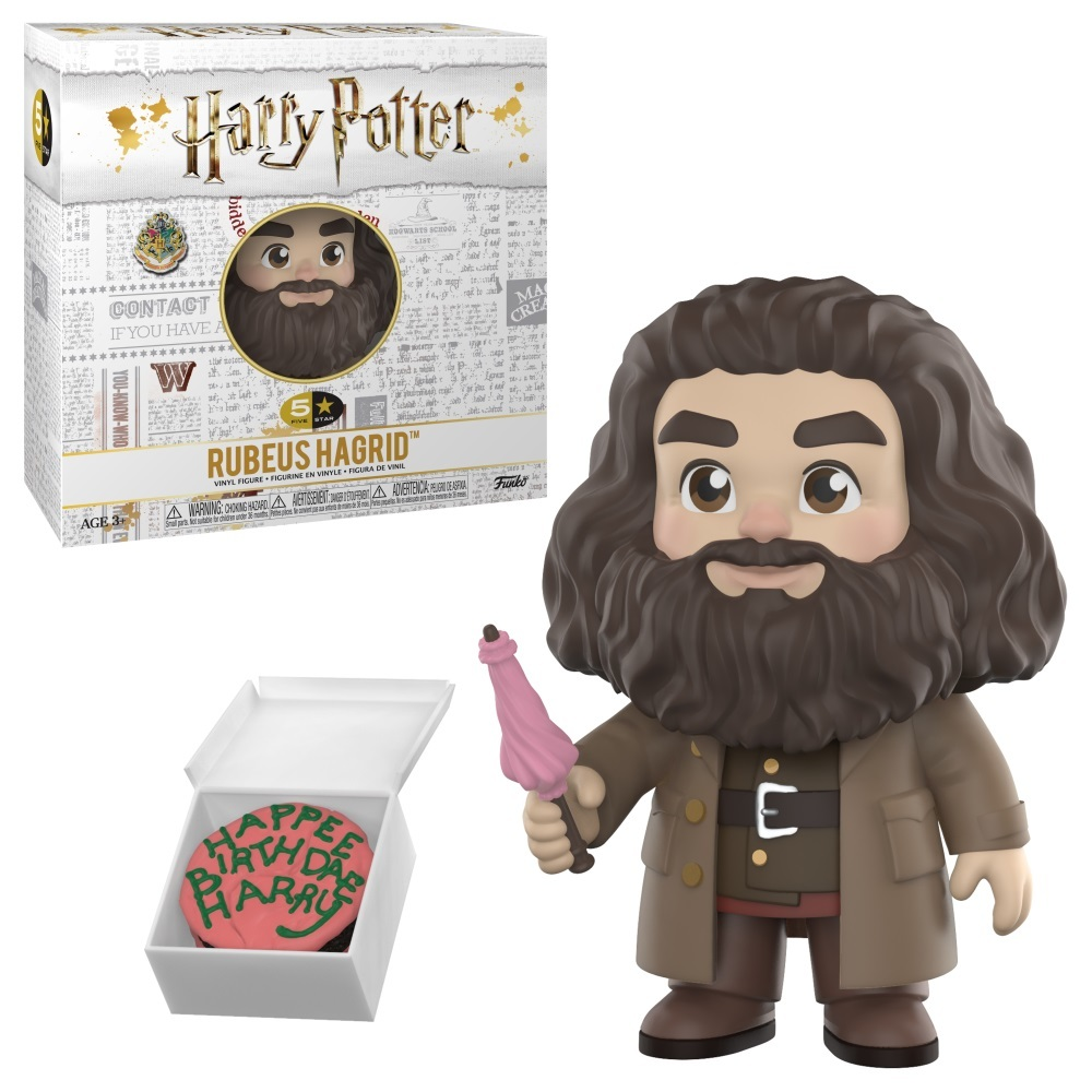 фигурка Funko Vinyl Figure 5 Star Harry Potter Rubeus Hagrid 30452