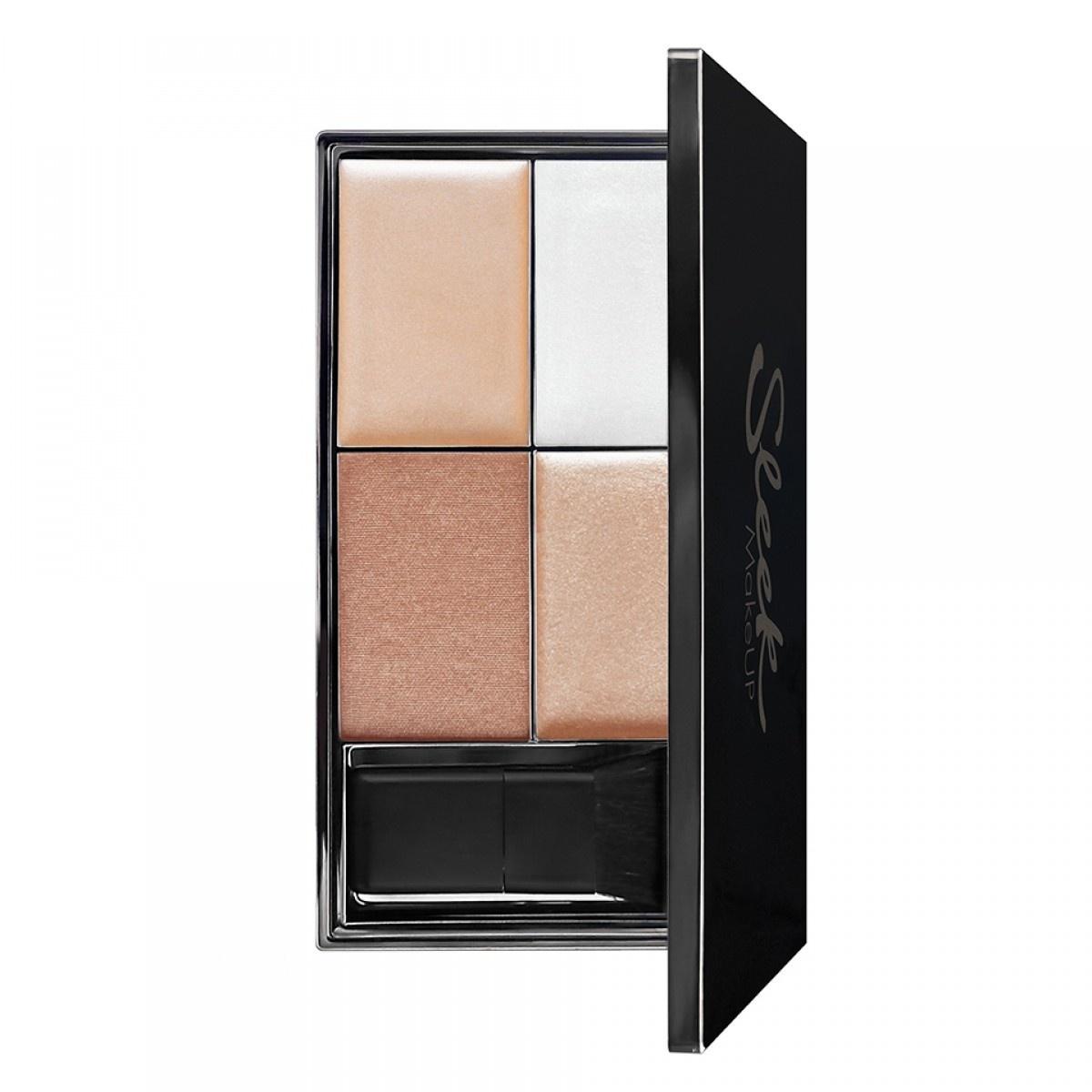 Купить со скидкой Хайлайтер Sleek MakeUP Precious Metals Highlighting Palette, палетка 029 (Хайлайтер)