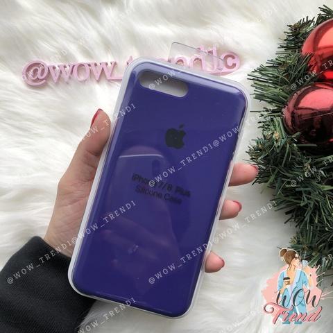 Чехол iPhone 7/8 Silicone Case /ultra violet/ ультрафиолет original quality