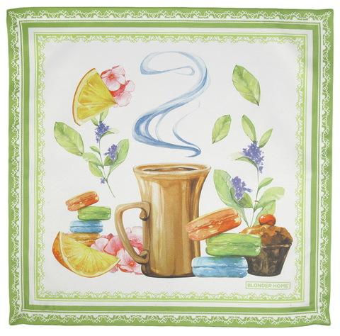 Салфетки 4 шт 40x40 Blonder Home Tea Time