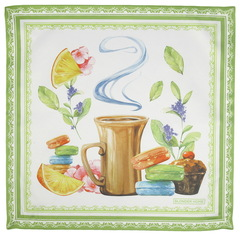 Салфетки 4 шт 40x40 Blonder Home Tea Time