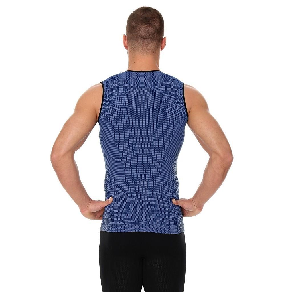 Мужская майки для фитнеса Brubeck 3D Run Pro (SL10290) синяя фото