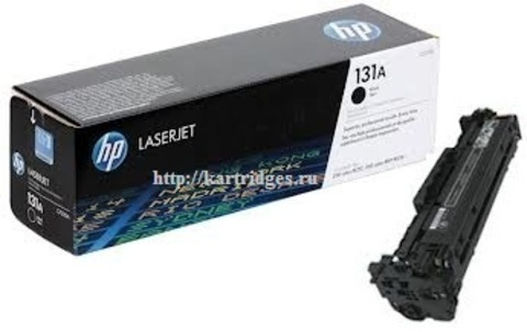 Картридж Hewlett-Packard (HP) CF210A №131A