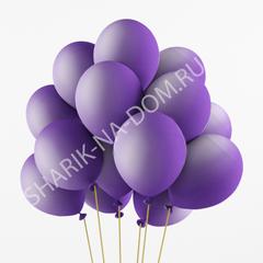 Сиреневые воздушные шары