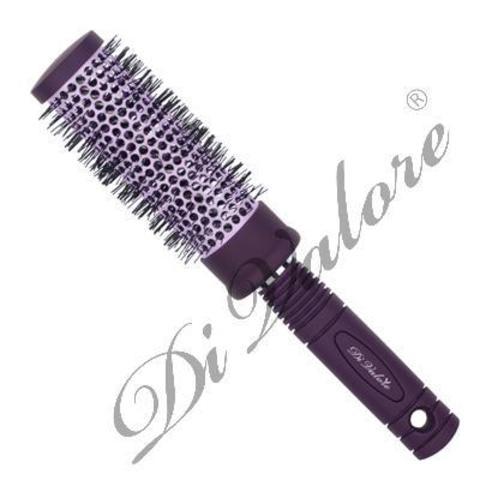 Di Valore Della moda Расческа круглая термическая керамическая для укладки волос 301-041С#34