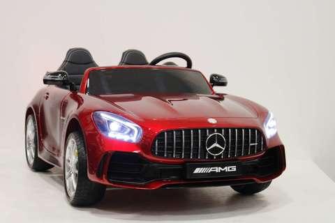 Электромобиль River Toys Mercedes-Benz-AMG-GTR-HL289 (ЛИЦЕНЗИЯ)  4*4 Полный Привод
