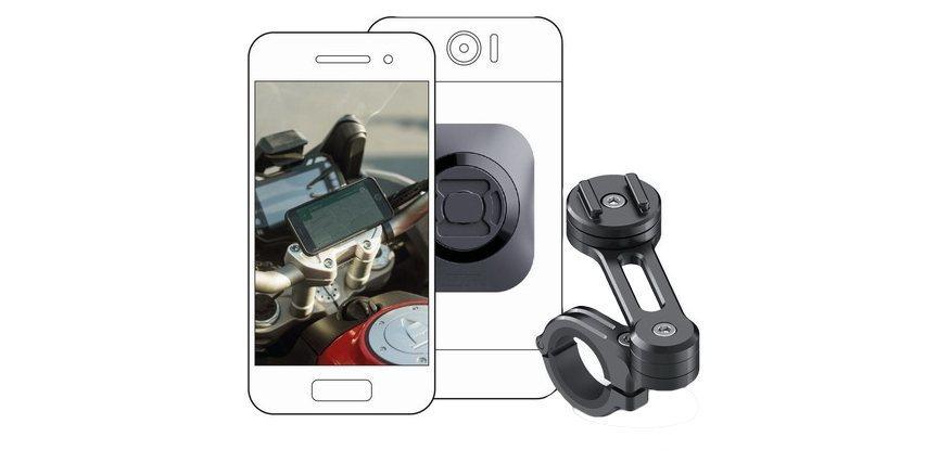 Набор универсальных креплений для смартфона на мотоцикл SP Moto Bundle Universal крепление с телефоном