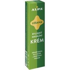 ALPA крем ЛЕСАНА -травяной массажный, 40 мл.