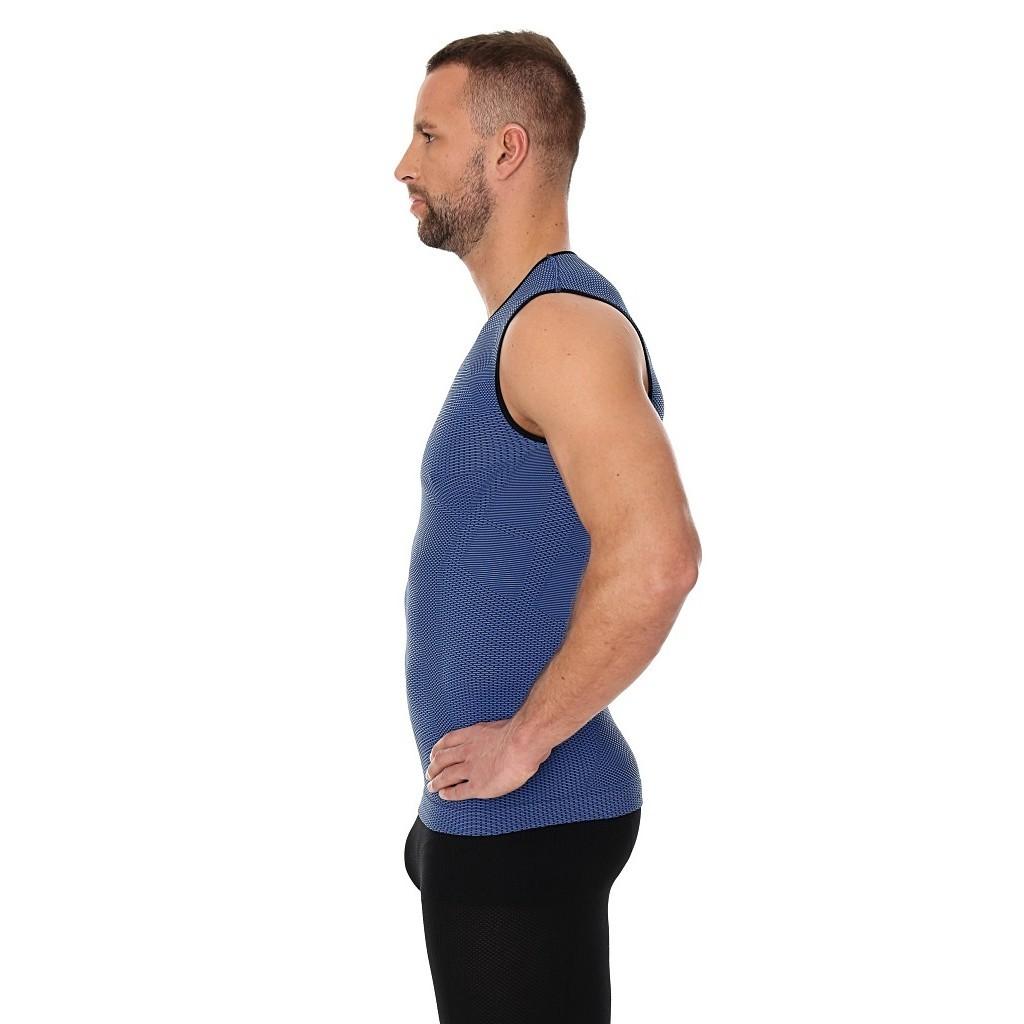 Мужская спортивная майки для бега Brubeck 3D Run Pro (SL10290) синяя фото