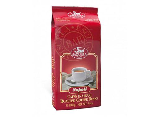 Кофе в зернах Saquella Napoli Bar, 1 кг