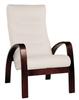 Кресло «Ладога-2», ткань миндаль, каркас венге, GREENTREE, г. Воронеж