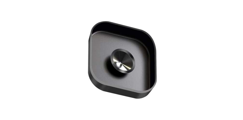 Защитная крышка на объектив камеры HERO8 Black вид с обратной стороны
