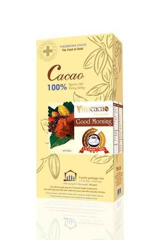 Вьетнамский какао Vietnamcacao Good Morning, картон, 150 гр.