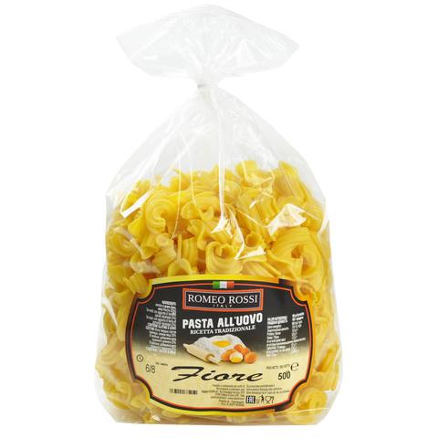 Паста ROMEO ROSSI яичная/Цветки /4 яйца 500 гр
