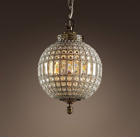 19th C. Casbah Crystal Chandelier 12