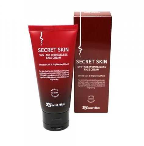 Крем со змеиным ядом Syn-ake Wrinkleless Face Cream от Secret Skin