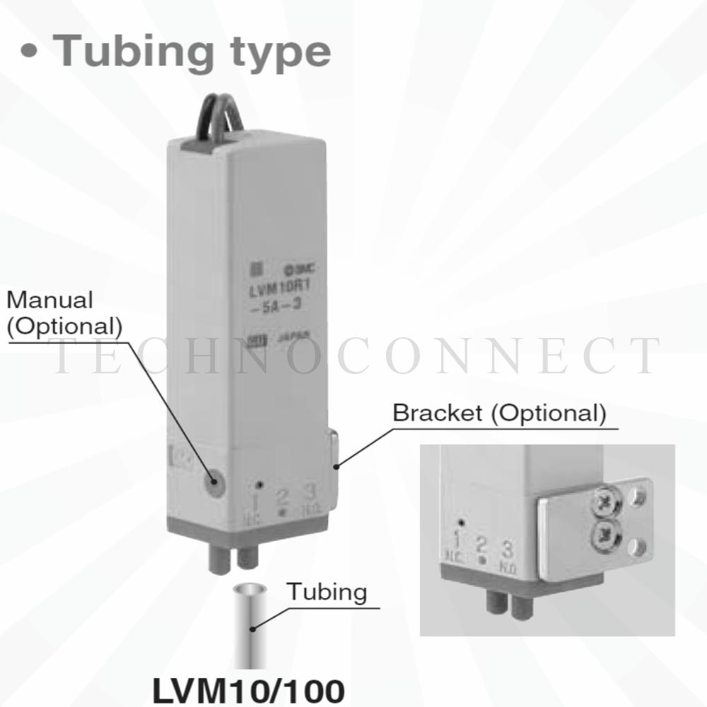 LVM10R1-5A-1   2/2 Клапан химич. стойкий, 24VDC