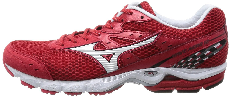Мужские марафонки Mizuno Wave Aero 12  (J1GC1435 01) красные