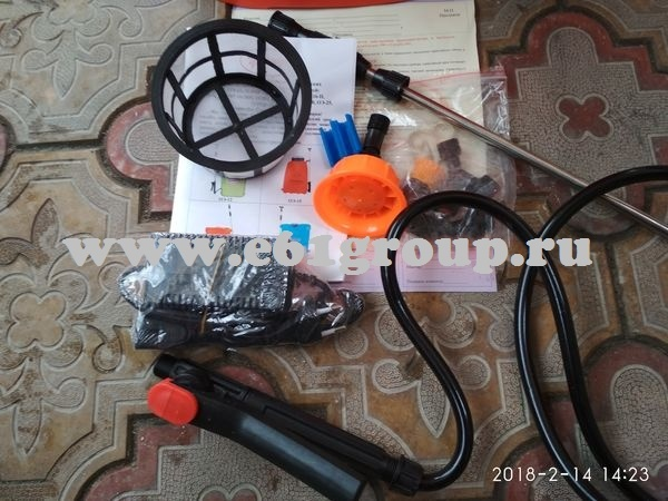 4 Опрыскиватель электрический ранцевый  Комфорт (Умница) ОЭМР-12 с регулятором мощности отзывы
