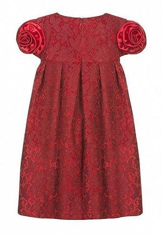 Pelican GWDT3008  Платье для девочек нарядное красное
