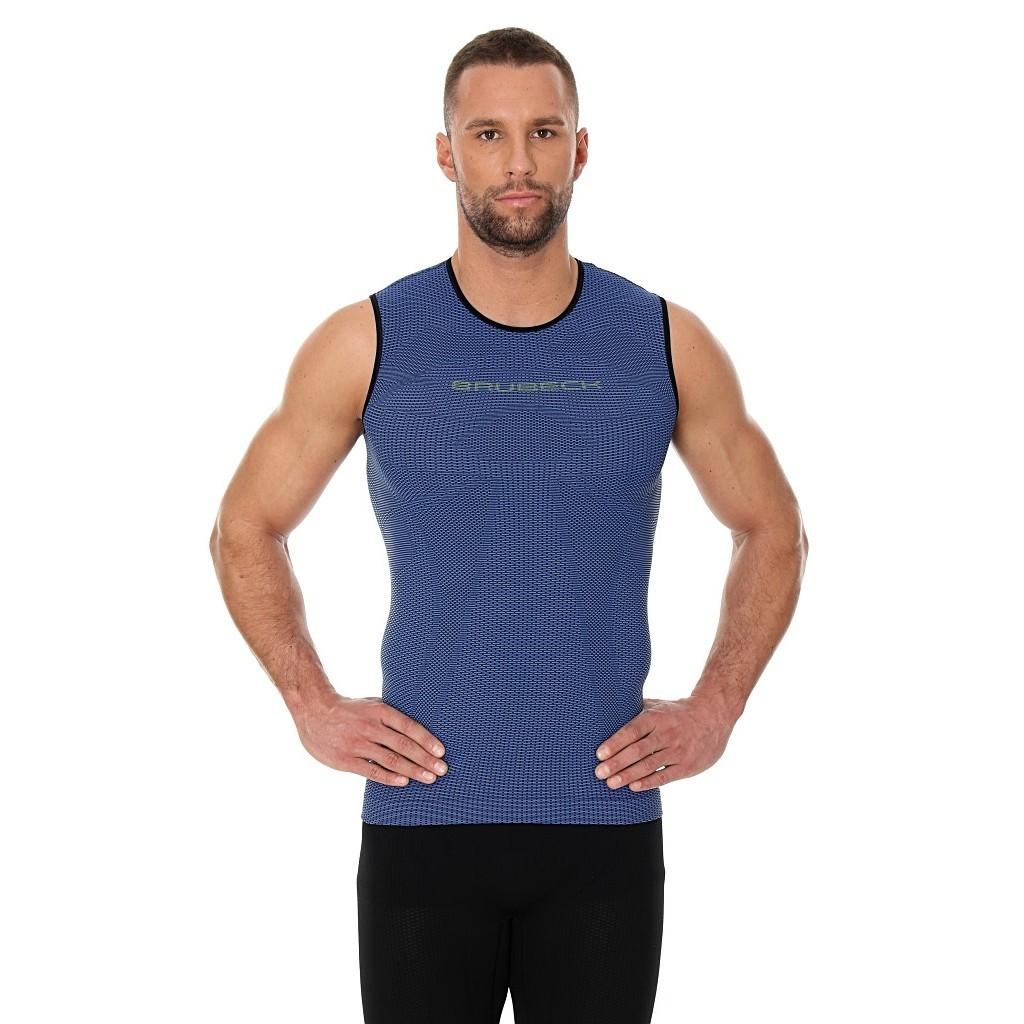 Мужская майки для бега Brubeck 3D Run Pro (SL10290) синяя фото