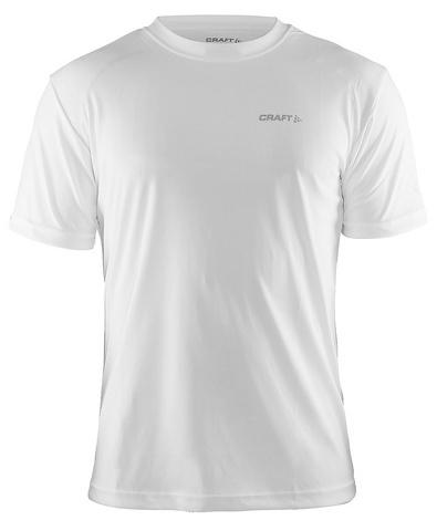Мужская беговая спортивная футболка Craft Active (199205-1900) белая фото