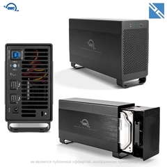 Корпус для дисков OWC Mercury Elite Pro Dual 2-Bay Thunderbolt 2 RAID Array