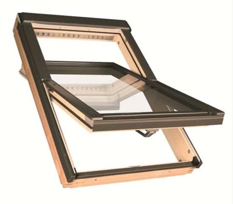 Мансардное окно Факро FTP-V U3 Profi 94х140