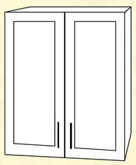 ШВС 600 Шкаф верхний стекло