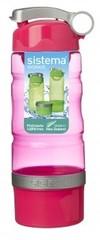 Спортивная питьевая бутылка Sistema Sport Fusion, красная 615 мл