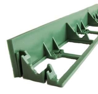 Пластиковые бордюры для ландшафтного дизайна (разграничители грунта)