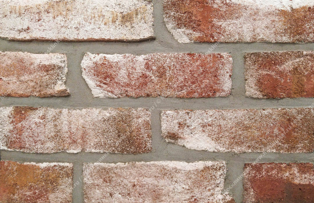 Roben, Geestbrand Bunt-weiss, облицовочная клинкерная плитка под старину, белый пестрый, NF