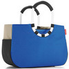 Сумка loopshopper m patchwork royal blue
