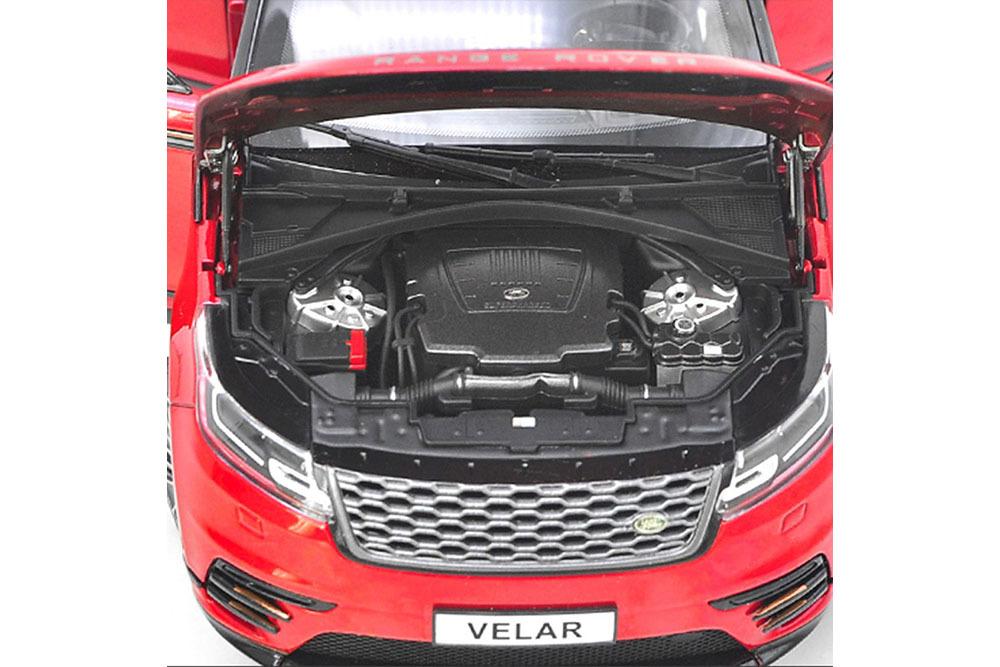 Коллекционная модель RANGE ROVER VELAR 2019 RED