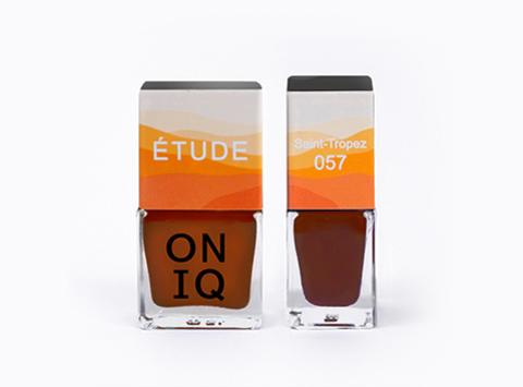 ONP-057 Лак для покрытия ногтей с эффектом акварели Triptych ETUDE: Saint-Tropez
