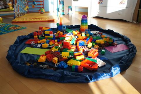 Большая сумка-коврик для игрушек, 1.5 метра 2