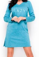 Молодежное платье для дома и отдыха Jula голубое