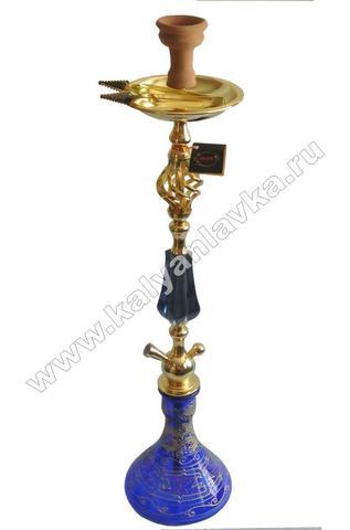 Кальян Ager №3 с голубой вставкой