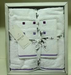 Набор полотенец  3 предмета CANDY -КЕНДИ / Maison Dor (Турция)