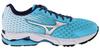 Женские кроссовки для бега Mizuno Wave Rider 18 (J1GD1503 04) бирюзовые